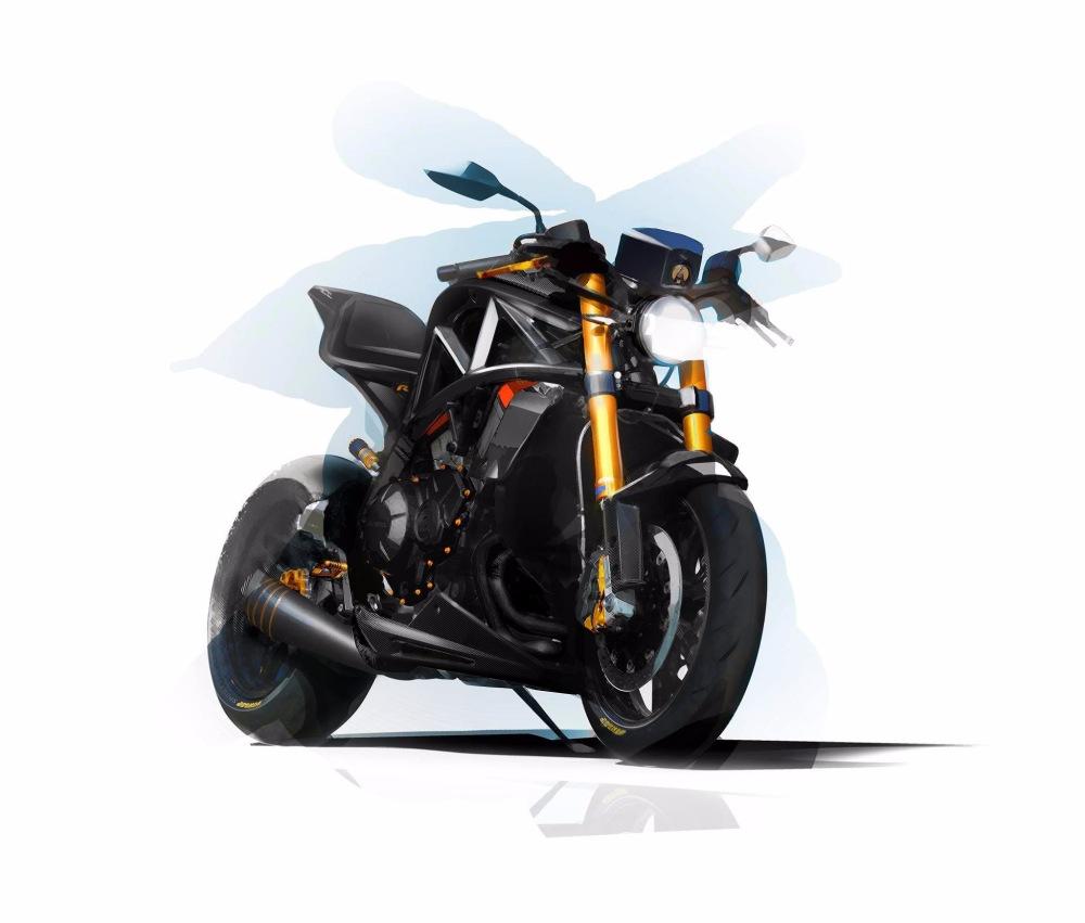 Мотоцикл Ariel Ace R 2017 представят на шоу NEC 2016 / Мотоновости / БайкПост