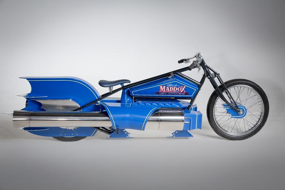 Реактивный мотоцикл Maddox PulseJet / Мотоновости / БайкПост