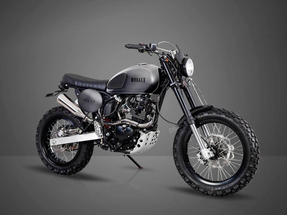 Новый мотоцикл Bullit Hero 125 Scrambler / Мотоновости / БайкПост