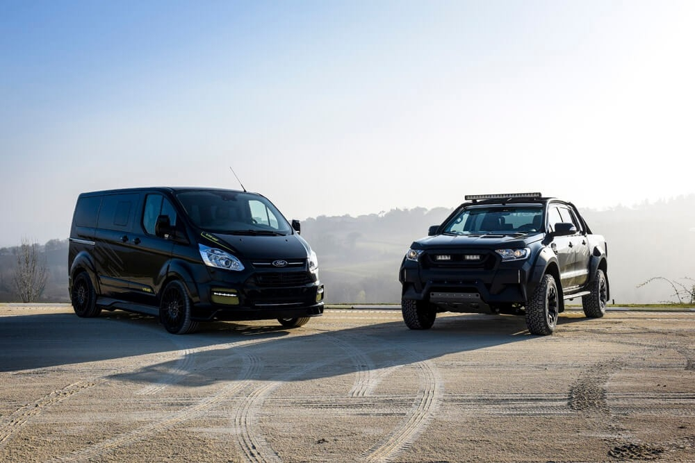 Автомобили Ford Transit VR46 и Ford Ranger VR46 / Мотоновости / БайкПост